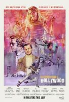 "ONCE UPON A TIME IN HOLLYWOOD (11"" X 17"") Movie Collector's Poster Print 11x17"