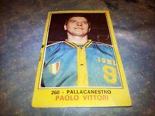Figurina Panini Campioni dello Sport 1970/71 n°260 PAOLO VITTORI Basket