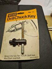 Vitrex No.12 Drill Chuck Key