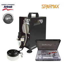 Professional Airbrushing Kit - Infinity CRplus 2 in 1 & Sparmax 610H Compressor