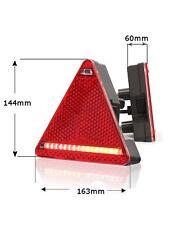 LED Rücklicht Heckleuchte Brems Blinker Mehrfachleuchte 4in1 Links 12/24V Nr 324