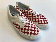 Vans New ERA CRFT Podium Checkerboard/Racing Red Men Size USA 9 UK 8.5 EUR 42