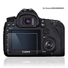 Lynca Displayschutz, Panzerglas für Canon 60D, 550D, 600D, Glas Schutz LCD  ggs