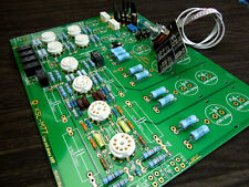 Famous circuit Tube preamplifier DIY KIT preamp with Phono Amplifier circuit ZHI