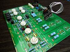 Famous circuit Tube preamplifier DIY KIT preamp with Phono Amplifier circuit ZHI