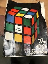 Rubik's Cube The Ideal Solution Book 1981 by Ideal Toy Corporation - Very Good!