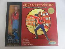 """Gearbox Action Figure 1850'S Volunteer Fireman 12"""" Firefighter Le"""