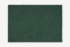 Made.com Rohan Living Room Stylish Green Extra Large Woven Jute Rug - RRP £179