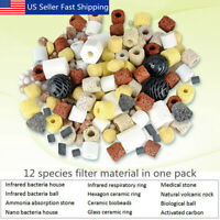 420g 12 in 1 Bag Aquarium Fish Tank Pond Biological Ring Bio Ball Filter
