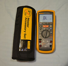 Fluke 1587fc Insulation Multimeter With Customized Tlk 225 Excellent Condition