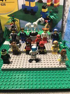Lego Mini Figure Job Lot Bundle Of 14 Assorted Figures