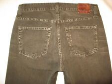J Brand Mens Jeans Kane Slim Straight Leg Olive Distressed Wash 31 x 29
