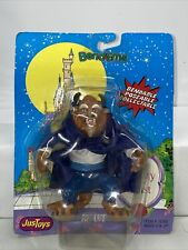 Vintage Disney Beauty And The Beast Bend-Ems Beast Figure Moc Just Toys New