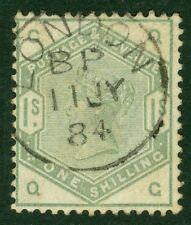 SG 196 1 / - Opaco di colore verde. un superbo esempio USATO annullato con un onesto Londra...