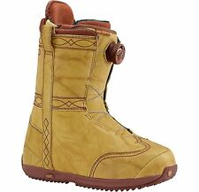 BURTON FRYE WOMEN'S SNOWBOARD BOOTS - COLOR: STITCHING HORSE - SIZE: 7 - NEW!!!
