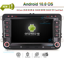 Doppel Din Android 10 DAB+ Autoradio Navi GPS DVD für VW Passat RNS510 B6 B7 CC
