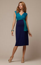 Tiffany Rose Maternity Dress - Jewel Block Dress (Biscay Blue)