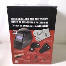 LINCOLN ELECTRIC KH977 Welding Helmet Universal Kit Solar Power Auto Darkening.