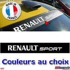 Pare soleil Renault Sport - Sticker autocollant mégane RS clio twingo 001N
