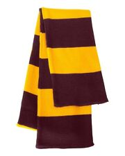 New Sportsman - Rugby Striped Knit Scarf - SP02