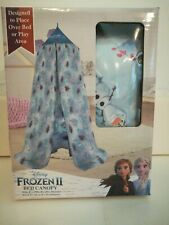 Bn Disney Frozen 2 Bed Canopy / Play Canopy