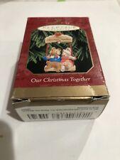 "Hallmark Keepsake ""Our Christmas Together"" 1999 Ornament NEW"