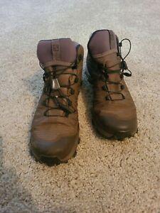 Salomon Men's US 8.5M Speed Assault Force Shoes Absolute Brown 379499