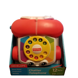 WB Fisher Price Chatter Phone Babies First Telephone Noise Making Baby Toy 12 M
