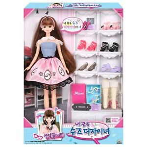 MIMIWORLD MiMi My Dream Is Shoes Desinger Figures Toys Barbie Doll SINGSING-GIRL