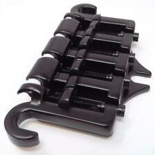 True Custom Shop® Black Gotoh 3 Point Bass Bridge for Gibson & Epiphone Guitars