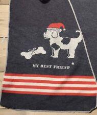 David Fussenegger Dog Blanket. 28x36. Made in Austria.