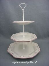 Johnson Brothers Madison 3 tier cake stand.