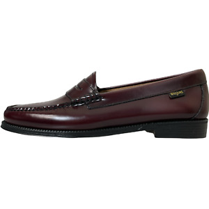 G.H. Bass Womens Easy Weejuns Penny Loafers Size 8.5M Burgundy Leather