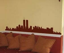 Vinyl Wall Decal Sticker New York Skyline World Trade