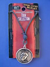 GENIUNE RARE 2006, OFFICIALLY LICENSED, ROLLING STONES TOUR COLLECTION NECKLACE