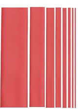 1M RED Heat shrink tubing,30mm  diameter,electrical,car,wiring.2:1 shrink ratio