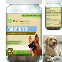 DOG CHEWS Calming XL Behavior Support Supplement forDOG CHEWS Calming XL Dogs 75