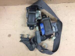 88 89 90 91 Prelude Left L Driver Side Front Seat Belt Seatbelt Black Used OEM