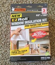 Frost King Ez833 Window Insulation Kit, Pack, Plastic, Clear