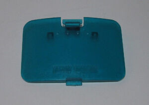 Brand New ICE BLUE N64 Replacement Jumper Pak Cover / Memory Expansion Pak Lid
