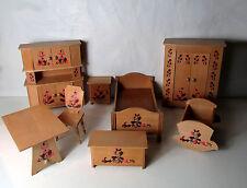 Meubles pour poupée Vintage en bois design scandinave