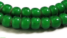 Green Whitehearts Venetian Trade Beads African New