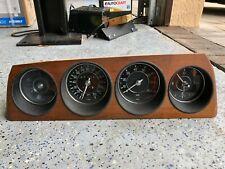 BMW E9 2800 CS 3.0CS 3.0 CSi Instrument Cluster NEARLY PERFECT