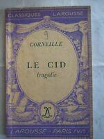 CORNEILLE - LE CID - Classiques