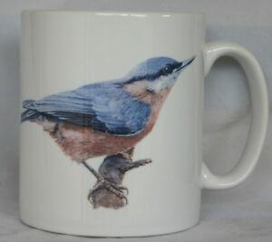 Nuthatch - Original Art - Personalised Mug / Cup - Garden Bird