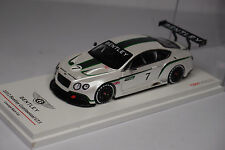 TSM TRUESCALE 2012 BENTLEY CONTINENTAL GT3 #7 CONCEPT RACE CAR 1:43