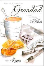 JONNY JAVELIN - DAYS TO REMEMBER -  'HAPPY BIRTHDAY GRANDAD' CARD - DR74