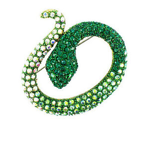 Spectacular Snake Brooch MORE COLOURS AVAILABLE