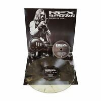 REX BROWN - SMOKE ON THIS - Clear With Black Streaks - LP + CD