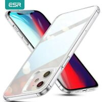 ESR Case for iPhone 12 Mini 12 Pro Max, 9H Tempered Glass Back Cover TPU Frame
